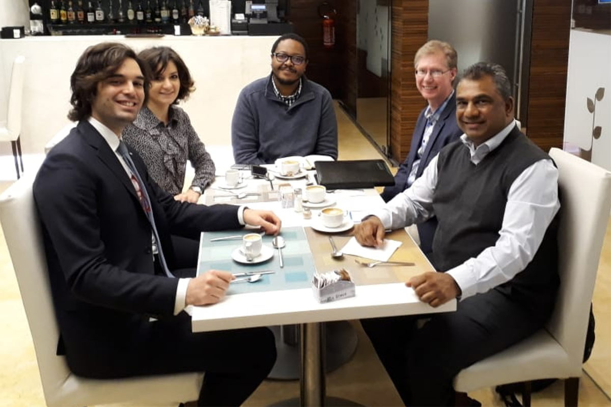 Global Peace meets JCI Representatives