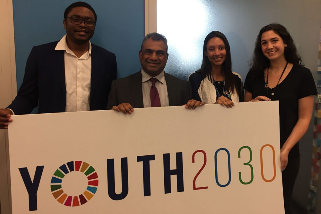 Global Peace meets UN Youth Envoy