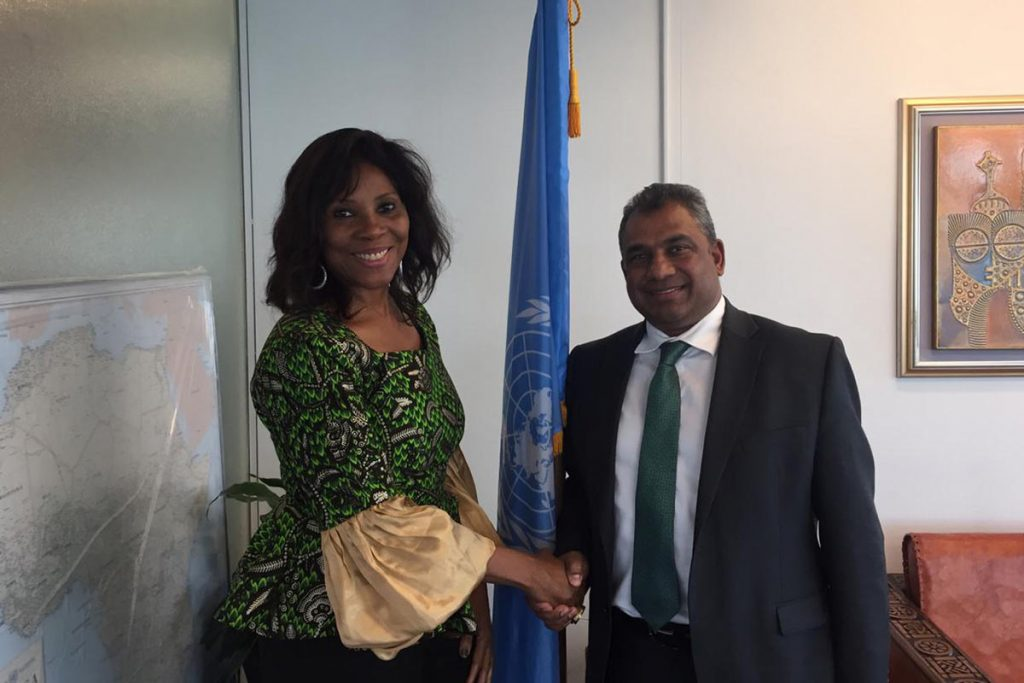 Global Peace meets UNDP Assistant Administrator