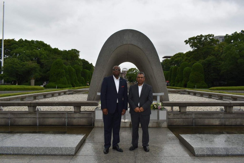 Hiroshima Peace Ceremony